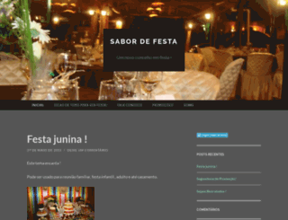 sabordefesta019.wordpress.com screenshot