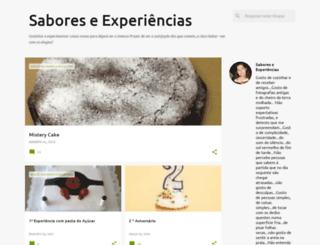saboreseexperiencias.blogspot.com screenshot
