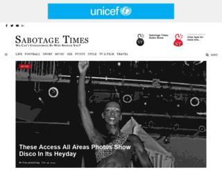 sabotagetimes.com screenshot