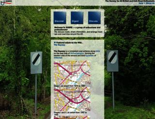 sabre-roads.org.uk screenshot