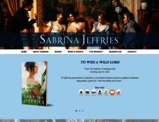 sabrinajeffries.com screenshot