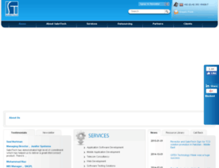 sabritech.com screenshot