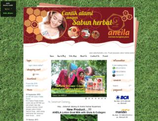 sabunherbalku.com screenshot