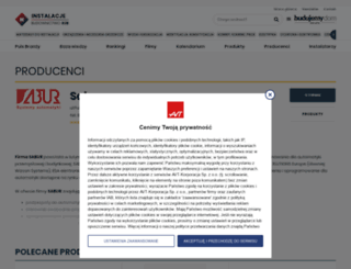 sabur.instalacjeb2b.pl screenshot