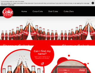 sac.cokezone.com screenshot