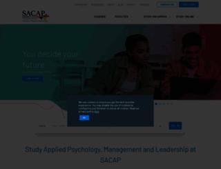 sacap.edu.za screenshot