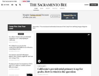 sacbee.com screenshot