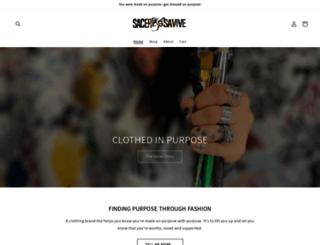 sacerandsavive.com screenshot