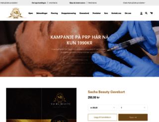 sacha.no screenshot