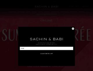 sachinandbabi.com screenshot