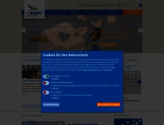 sachsen-anhalt.nabu.de screenshot