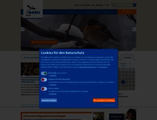 sachsen.nabu.de screenshot