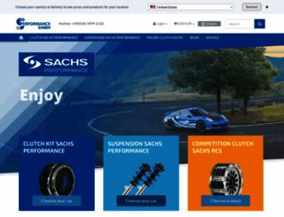 sachsperformance.com screenshot