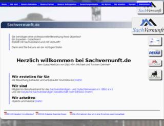 sachvernunft.de screenshot
