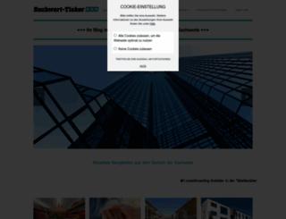 sachwert-ticker.de screenshot