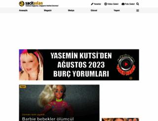 sacitaslan.com screenshot
