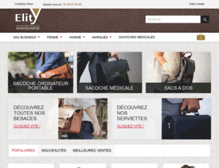 sacoche-business.com screenshot
