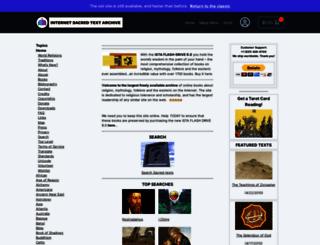 sacred-texts.com screenshot