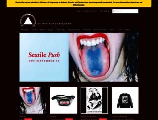 sacredbonesrecords.com screenshot