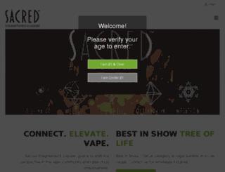 sacredeliquid.com screenshot