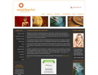 sacredfengshuidesign.com.au screenshot