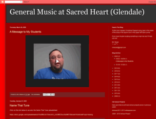 sacredheartmusicglendale.blogspot.com screenshot