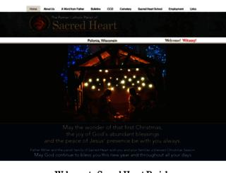 sacredheartpolonia.com screenshot