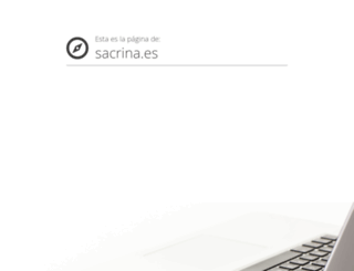 sacrina.es screenshot