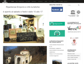 sacromontevarese.net screenshot