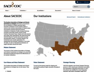 sacscoc.org screenshot