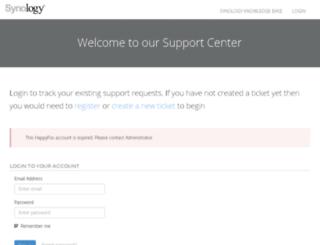 sacsupport.happyfox.com screenshot