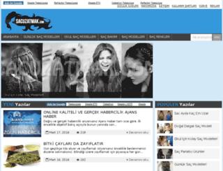 sacuzatmak.com screenshot