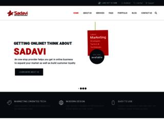 sadavi.com screenshot