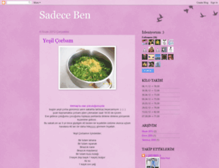 sadecebenleilgili.blogspot.com screenshot