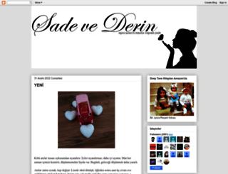 sadevederin.blogspot.com.tr screenshot