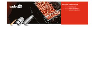 sadevgroup.com screenshot