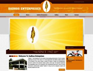 sadhoo.com screenshot