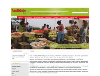 sadidal.com screenshot
