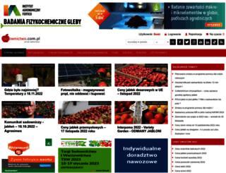 sadownictwo.com.pl screenshot