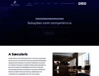 saecularis.com.br screenshot