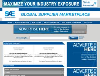 saeglobalsuppliermarketplace.com screenshot