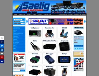 saelig.com screenshot