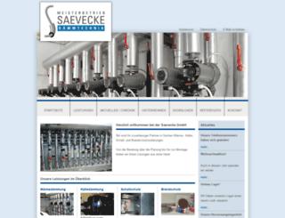 saevecke.net screenshot