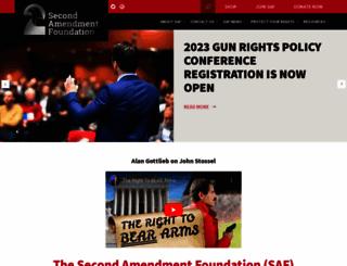 saf.org screenshot