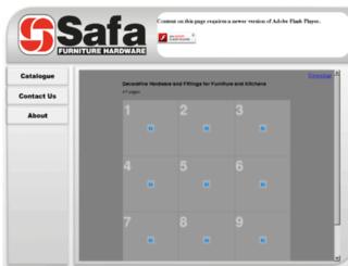 safa.co.za screenshot