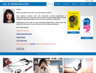 safaknakajima.com screenshot