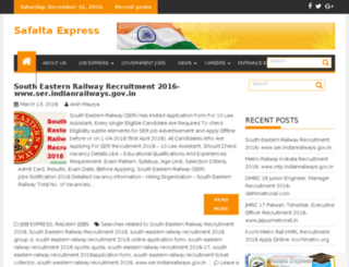 safaltaexpress.com screenshot