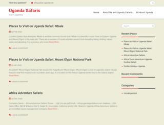 safari-uganda.net screenshot