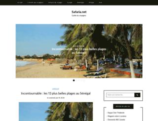 safaria.net screenshot