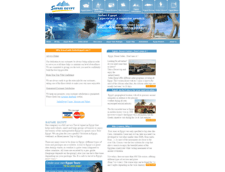 safariegypt.com screenshot